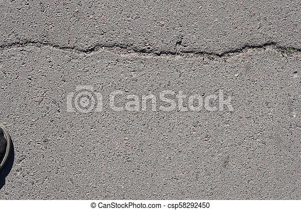 Grunge concrete wall texture background - csp58292450