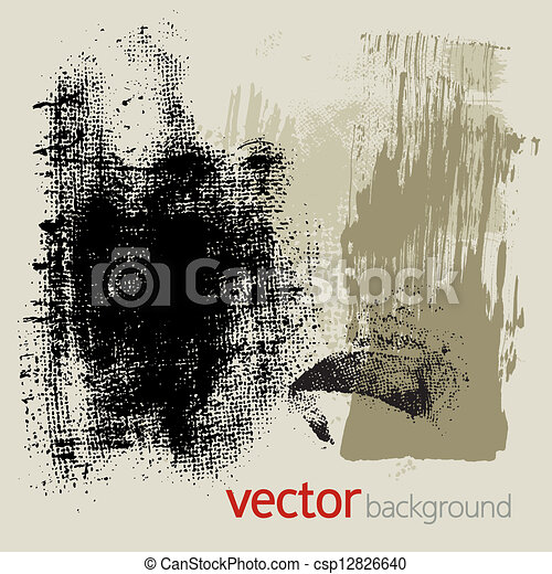Grunge elements, vector set 3 - csp12826640