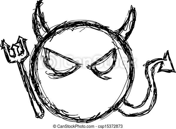 Grunge Evil Symbol