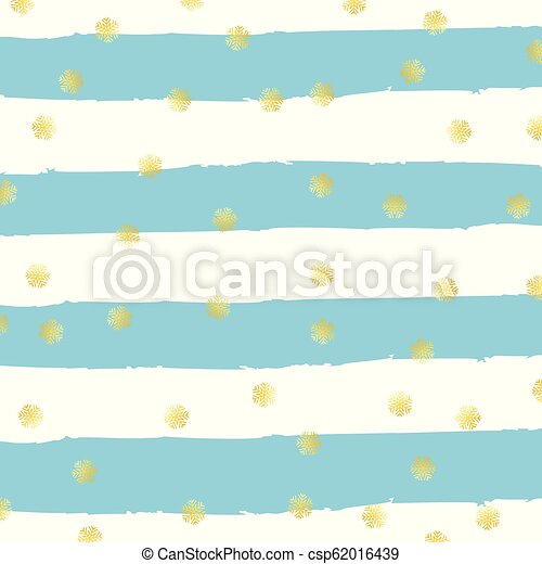 grunge, flocons neige, or, 1110, raie, fond, noël - csp62016439