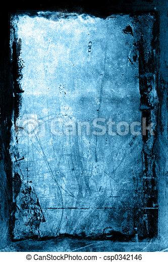 grunge, fondo, textured - csp0342146