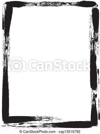 Grunge frame - csp13516792