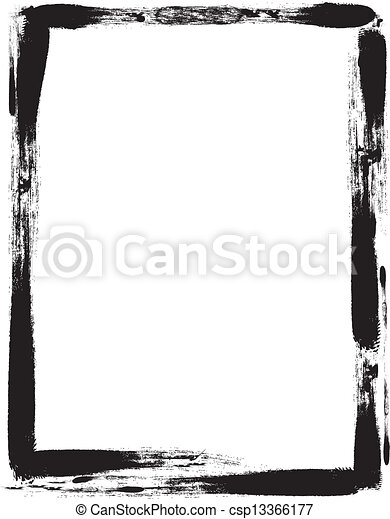 Grunge frame - csp13366177
