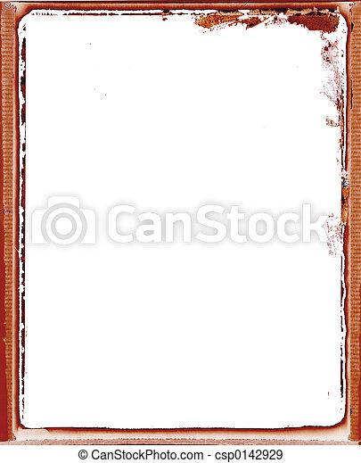 Grunge Frame - csp0142929