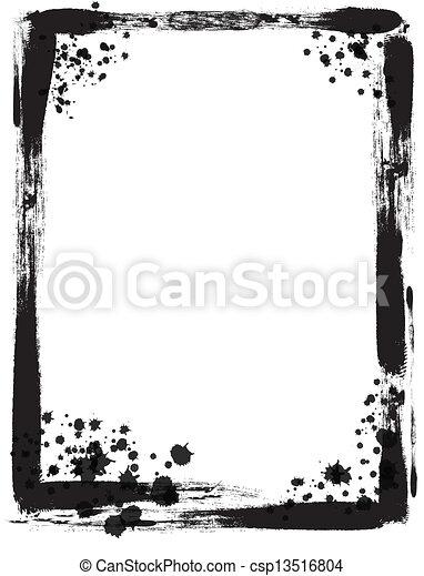 Grunge frame - csp13516804