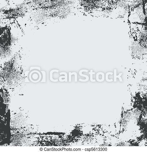 grunge frame - csp5613300