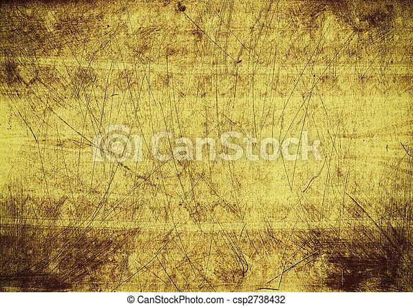 grunge, fundo, textura - csp2738432