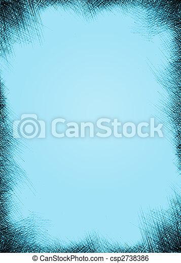 grunge, fundo, textura - csp2738386