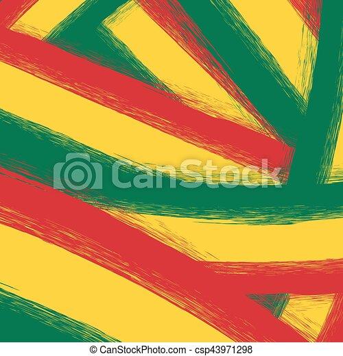 Grunge Giallo Sfondo Verde Rosso Grunge Sagoma Giallo Sfondo