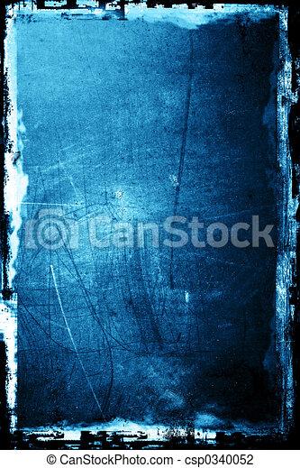 grunge, grafické pozadí - csp0340052