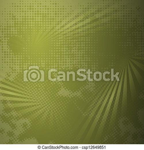 Grunge halftone dark background - csp12649851