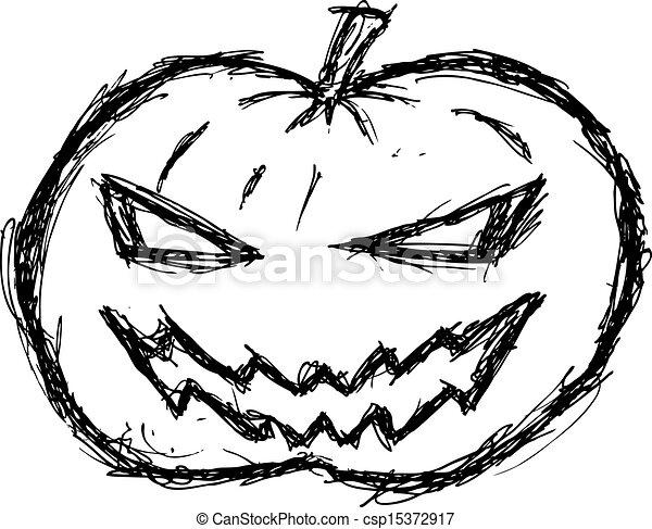 Grunge, halloween, calabaza.