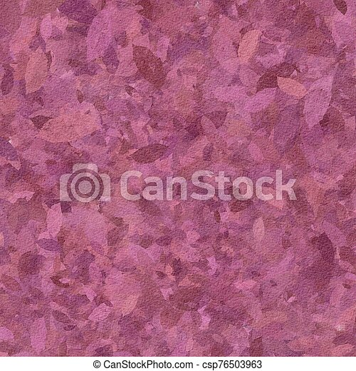 Grunge hand painted pink abstract textured background - csp76503963