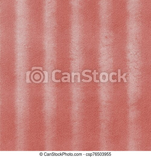 Grunge hand painted pink abstract textured background with stripes - csp76503955