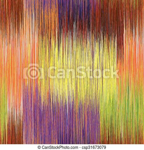 grunge, kleurrijke, model, bevlekte, seamless, gestreepte  - csp31673079