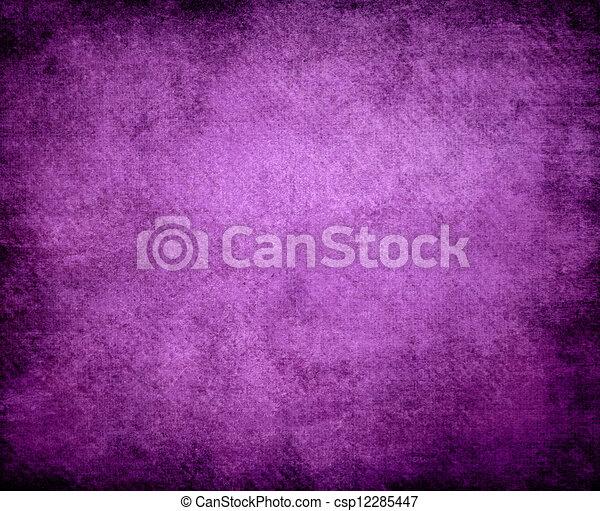 grunge, lila, abstrakt, beschaffenheit, papier, hintergrund, oder - csp12285447