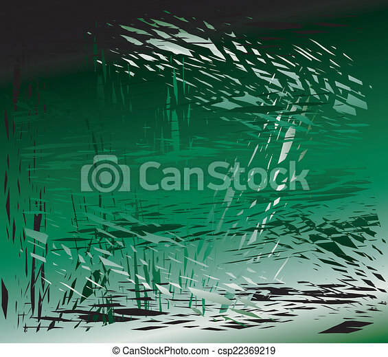 Grunge metal green background - csp22369219