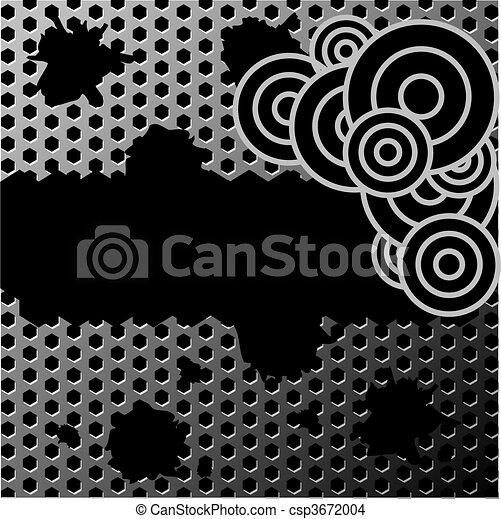 grunge metal texture - csp3672004