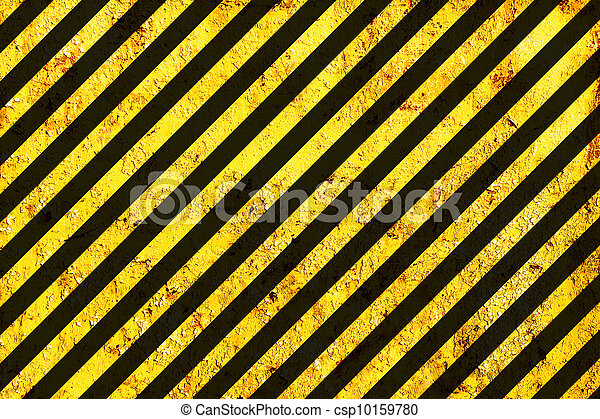 grunge, pericolo, modello, superficie, avvertimento, o - csp10159780