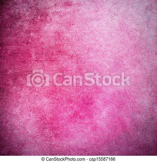 Grunge pink painted background - csp15587166