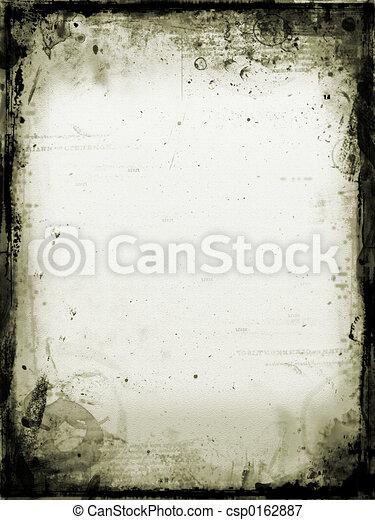 grunge, plano de fondo - csp0162887
