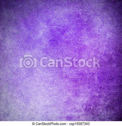 Grunge purple painted background - csp15587343