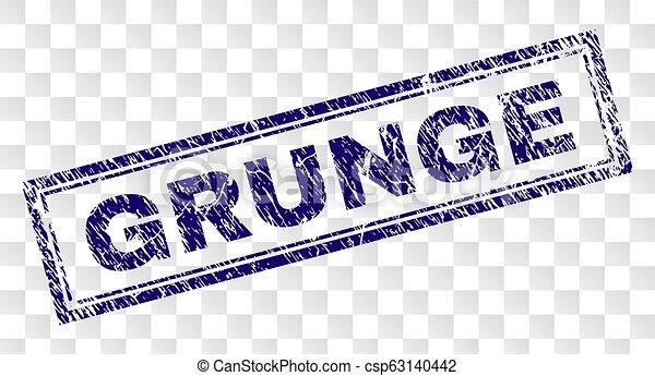 Grunge Rectangle Stamp - csp63140442