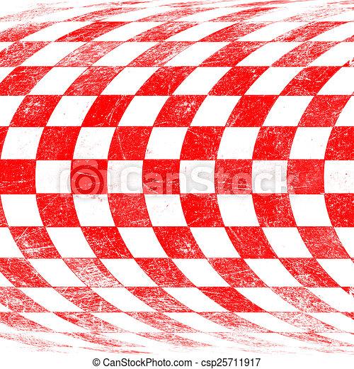 grunge red checkered - csp25711917