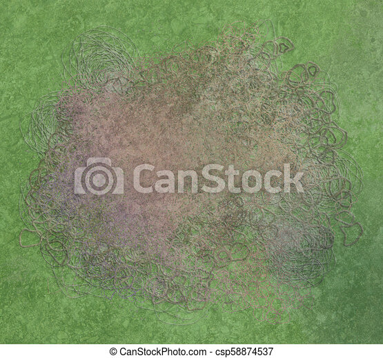 Grunge & rough. Abstract, canvas, dirty & wallpaper. - csp58874537