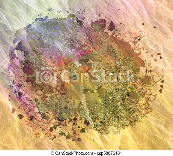 Grunge & rough. Art, details, web & illustration. - csp58876181