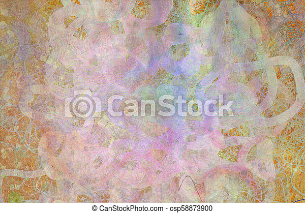 Grunge & rough. Cover, color, shape & surface. - csp58873900