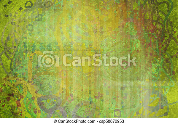 Grunge & rough. Graphic, backdrop, abstract & template. - csp58872953