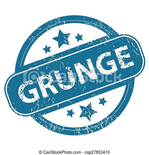 GRUNGE round stamp - csp27853410
