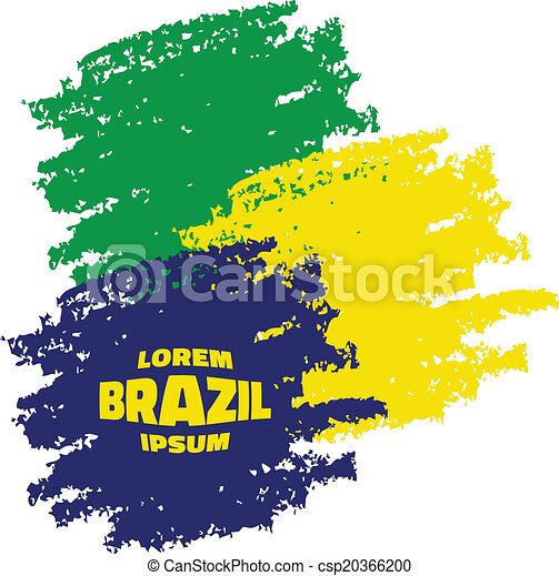 grunge smears using brazil flag colors vector illustration vector rh canstockphoto co uk grunge vector free grunge vector art