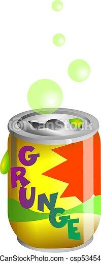 Grunge Soda - csp5345456
