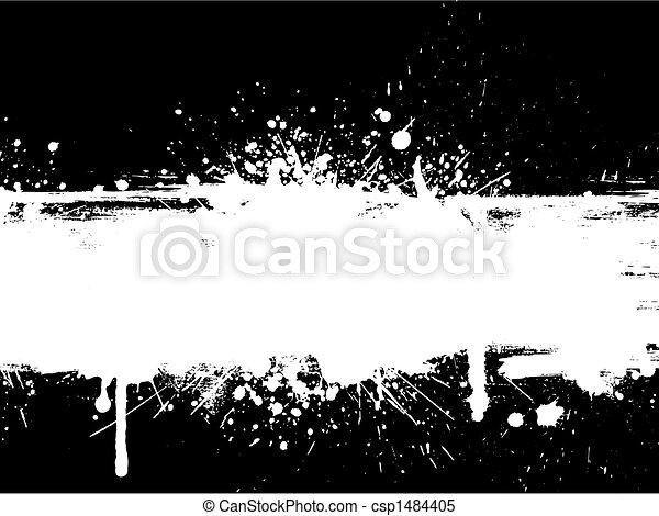 Grunge splatter - csp1484405