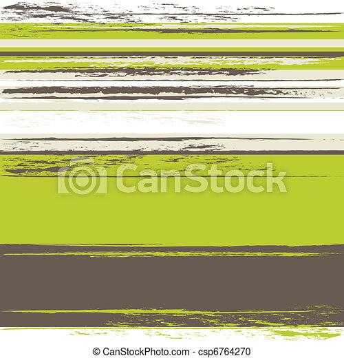 grunge, stripes, bakgrund - csp6764270
