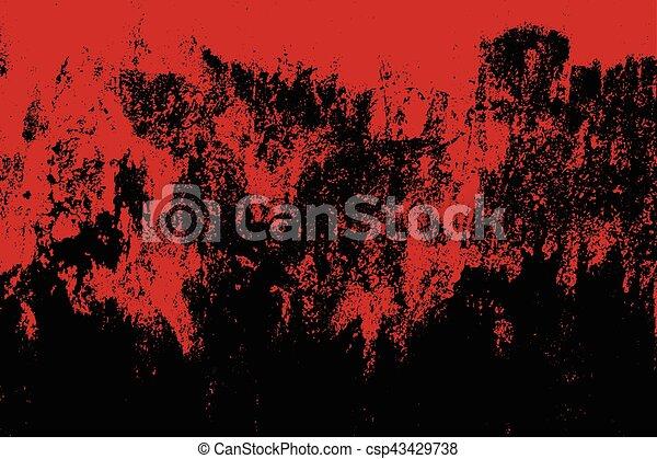 Grunge style Halloween background with blood splats - csp43429738