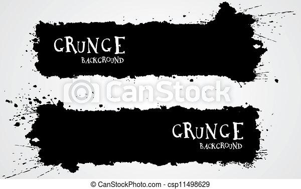 grunge, tła - csp11498629