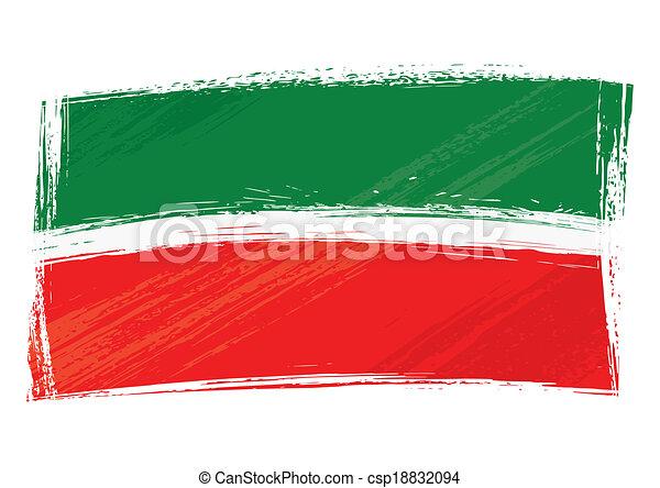 grunge tatarstan flag republic of tatarstan national flag created