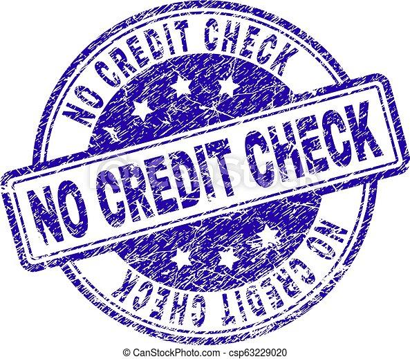 Grunge textur no credit check stempelsiegel. No credit check