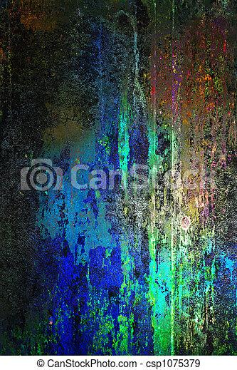 grunge, textura - csp1075379