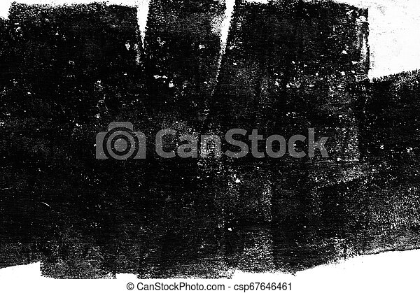 Grunge texture, black and white abstract background - csp67646461