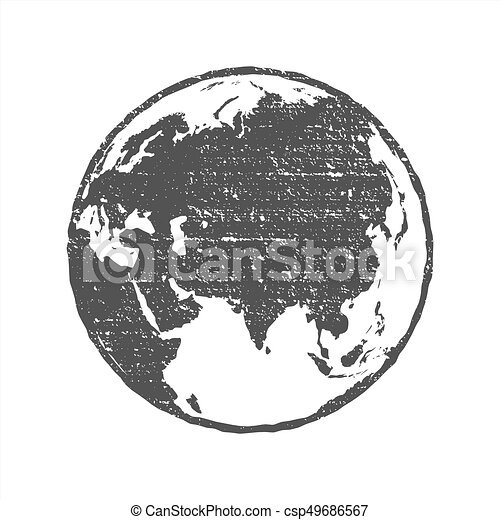 Grunge texture gray world map globe transparent vector clip art grunge texture gray world map globe transparent vector illustration gumiabroncs Image collections