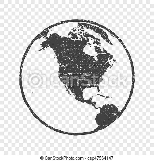 Grunge texture gray world map globe transparent vector eps vector grunge texture gray world map globe transparent vector illustration gumiabroncs Image collections