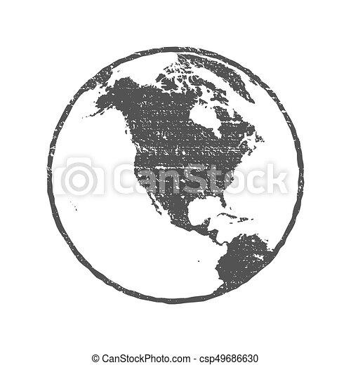Grunge texture gray world map globe transparent vector vectors grunge texture gray world map globe transparent vector illustration gumiabroncs Images