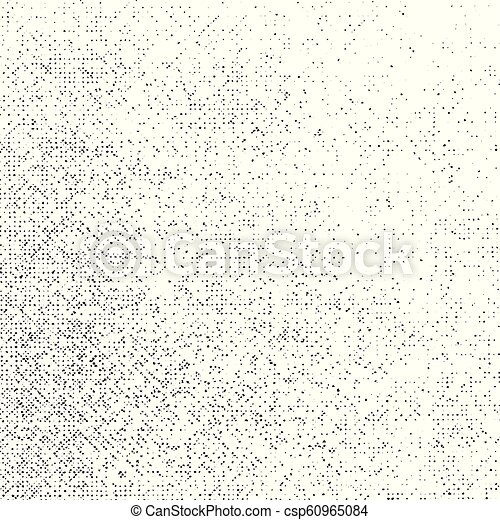 Grunge Texture on White Background, Abstract Dotted Grungy Vector, Halftone  Scratch, Rough Monochrome Design