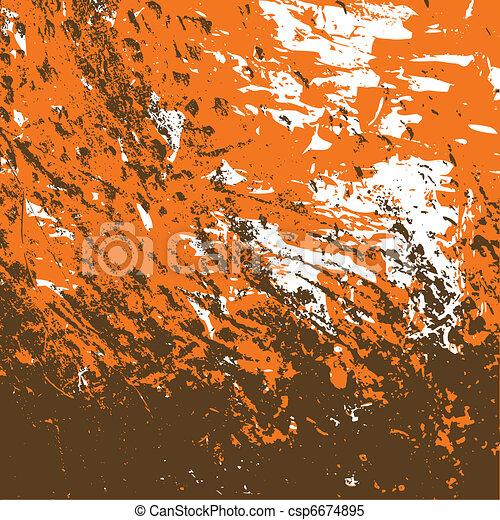 grunge textured background - csp6674895