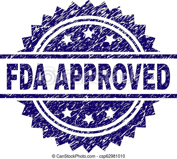 Grunge Textured FDA APPROVED Stamp Seal - csp62981010