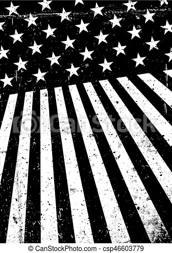 Grunge United States Of America Flag Abstract Patriotic Background